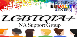 Lgbtqia+ NA Support Group @ Henderson Equality Center