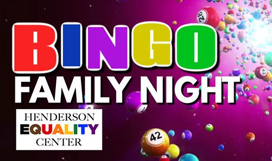 Henderson Pridefest Family Bingo