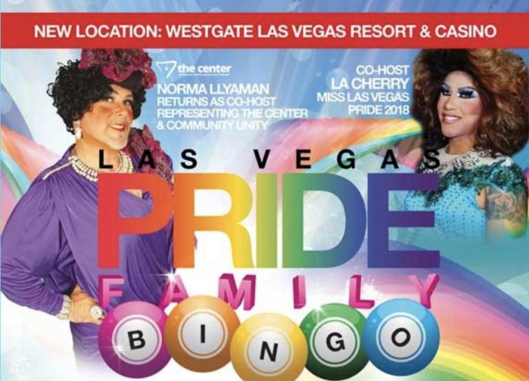 Las Vegas Pride Bingo - Henderson Equality Center
