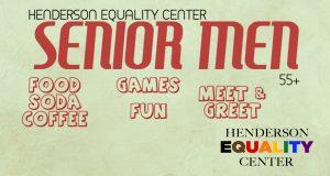 Senior Men Social Group @ Henderson Equality Center