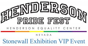 Henderson Equality Center Stonewall Exhibition VIP Event @ Henderson Equality Center