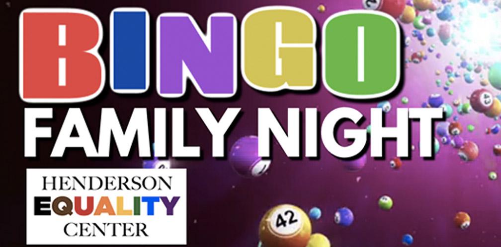 Henderson Equality Center Family Bingo