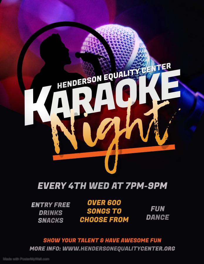 Karaoke Night - Henderson Equality Center