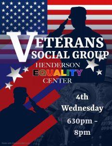 Veterans Social Group @ Henderson Equality Center
