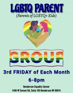 LGBTQ Parents Night! @ Henderson Equality Center