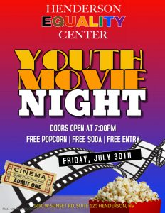 Youth Movie Night @ Henderson Equality Center