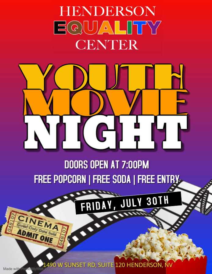 YOUTH MOVIE NIGHT - Henderson Equality Center