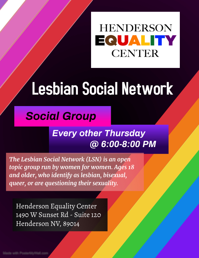 Lesbian Social Network - Henderson Equality Center